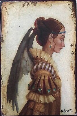 James Christensen Portrait of Isabella SmallWorks LE/SN Giclee Canvas -Free Ship