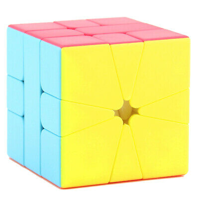 KIDS 3X3 SECTOR Magic Cube Skewb Mod Smooth Speed Cube Puzzle Sensory Toy