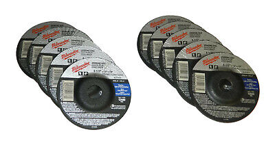"Milwaukee 49-94-4520 Grinding Disc 4-1//2/"" x 1//4/"" x 7//8/"" 4x New"