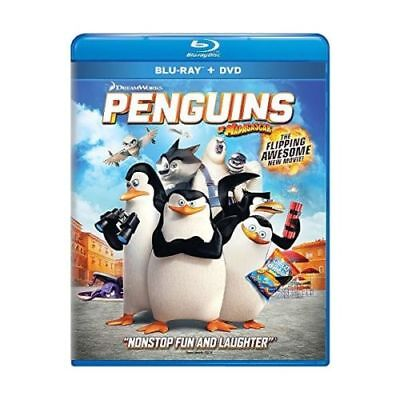 Penguins of Madagascar: The Movie [Blu-ray+DVD+Digital HD] 2-Disc Set+Slipcover