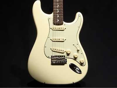 Fender USA Original 60s Stratocaster Olympic White Electric Guitar w/ Hard Case