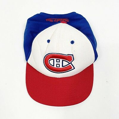 299a9993866 Montreal Canadiens Wool Mitchell   Ness NHL Throwback Retro Snapback Hat Cap