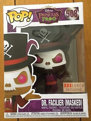 Funko Pop Disney Dr. Facilier (Masked) Box Lunch Exclusive #508 Lowest Price!!!!