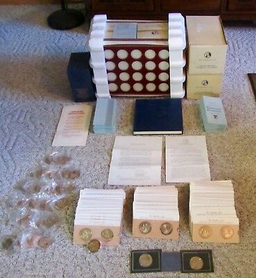 Outstanding Set Of Franklin Mint History Of The United States  200 Bronze Medals