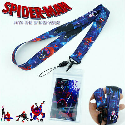 Spider-Man: Into the Spider-Verse Lanyard Neck Strap Charms Cell Phone Rope Gift