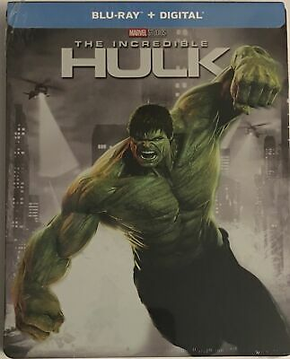 The Incredible Hulk Steelbook (Blu-ray/Digital 2018)) FYE Exclusive NEW Sealed