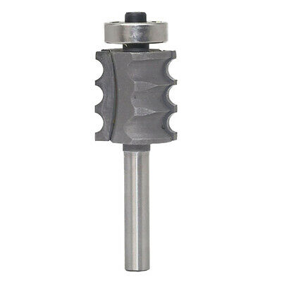 Triple Bead Column/Face Molding Router Bit 1/2-Inch, 1/4-inch Shank