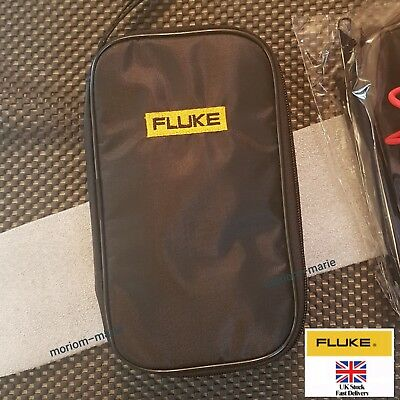 Soft Black Carrying Case/Bag for Fluke 15B 17B 18B 302 303 101 106 107