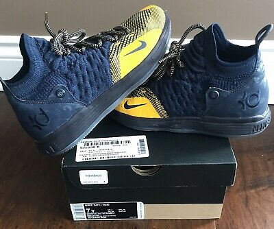 9df4f361f8c9 NIKE ZOOM KD11 KEVIN DURANT Size 7 Boys AO2604 001 Multi Color KD 11  Basketball