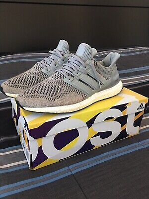 3604610bf PREOWNED ADIDAS WOOL Grey Ultra Boost 1.0 Size 10.5 -  149.99