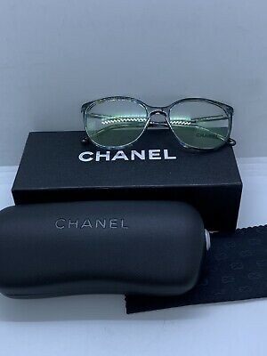 6221ad64f5e New Chanel 3282 1522 Multicolor Eyeglasses Authentic Frame Italy Rx-Able  54-18