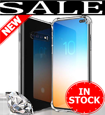 For Samsung Galaxy S10 S10 plus S10e Lite Clear Case Cover Shockproof TPU Bumper