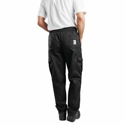 Le Chef Combat Pants Black XS