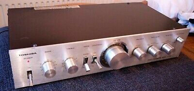 Toshiba Stereo Preamplifer Model SY-335 - See Pictures for Condition