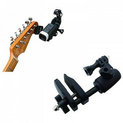 Zoom GHM-1 Guitar Headstock Mount for Zoom Q4 New Free Shipping