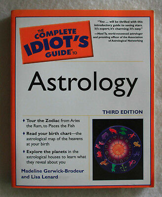 COMPLETE IDIOT'S GUIDE to Astrology by Lenard, Lisa Paperback Book