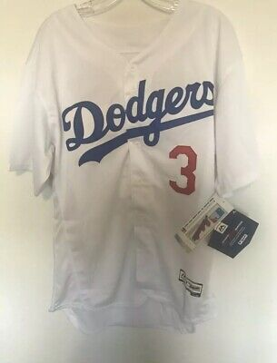 newest collection cfb5c 64be5 CHRIS TAYLOR LOS Angeles Dodgers Jersey White Flex Base Majestic Mens M-2XL