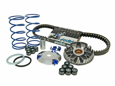 Polini complete variator kit with belt for the 2002-2011 Yamaha Zuma