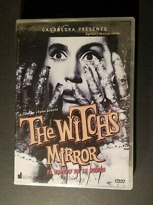 THE WITCHES MIRROR El Espejo De La Bruja 1960 DVD Mexican Horror Chano Urueta