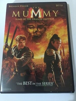 The Mummy: Tomb of the Dragon Emperor (DVD, 2008) Widescreen