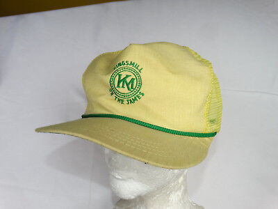 0fe7a3ea901 Kings Mill On The James Cap hat Yellow Vintage Rare Low Price Unique Look