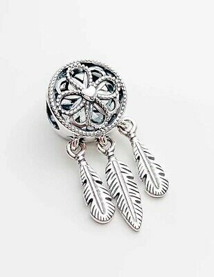 Authentic Pandora Silver Spiritual DREAM CATCHER Dangle Charm 797200#