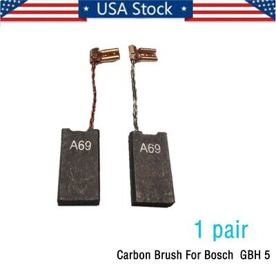 Carbon brush charcoal 6 x 8 x 24 mm electric motor G7W8 1 pair