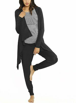 """Street to Home"" Maternity 3 Piece Relax Outfit - Black"