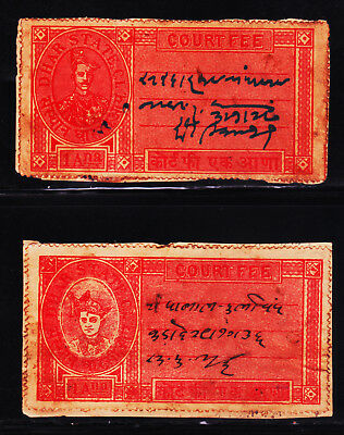 INDIA INDIAN STATE DHAR MINT Full Sheet of 10 1/2p Varieties