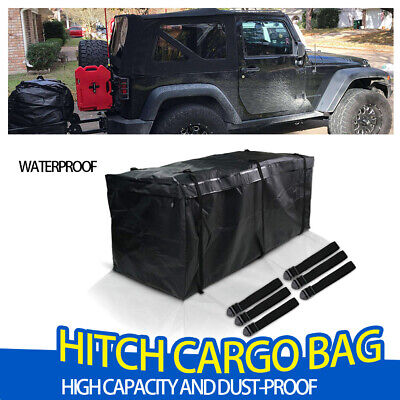 """60"""" Luggage tray Hitch Mounted Cargo Carrier Waterproof Bag Fit cars SUVs vans"""