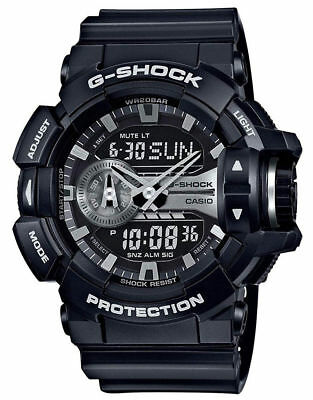 Casio GA400GB-1A G-Shock Ana-Digital Black Dial Black Resin Strap Men's Watch