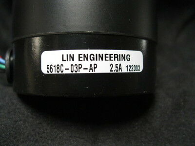Lin Engineering 5618c-03p-ap Motor, Step 4.5v Ibrido