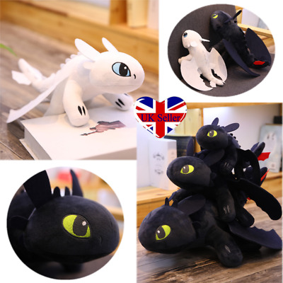 55cm How to Train Your Dragon 3 Toothless Night Fury Plush Toy Stuffed Doll Gift