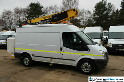 2010 Ford Transit 36LF Versalift 3.5 Ton Access Platform Cherry Picker