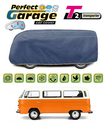 Heavy Duty Breathable 100% Waterproof 4 Layers Cover for Volkswagen T2 VW T2