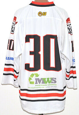 Paisley Pirates Scotland 2000`s Ice Hockey Shirt Jersey #30 Size Xl Adult