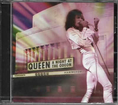 CD 19 TITRES QUEEN A NIGHT AT THE ODEON RECORDED LIVE THE 24th DECEMBER 1975 NEW