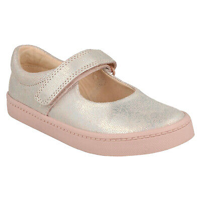 City Gleam Toddler Infants Girls Clarks Casual Leather Summer Shoes Pumps