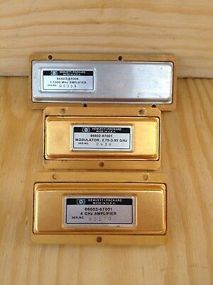 HP Agilent 86603-67004 Amplifier - 86603-67001 Amplifier - 86602-67001 Modulator