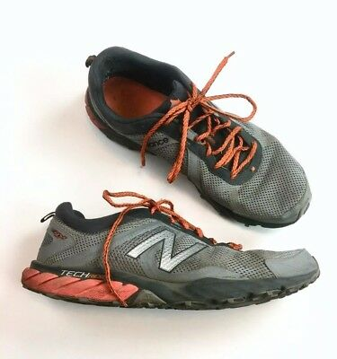 ef47c2fc98ece7 New Balance Mens MT610LO5 Trail Running Shoes Sneakers Size US 14 Gray  Orange