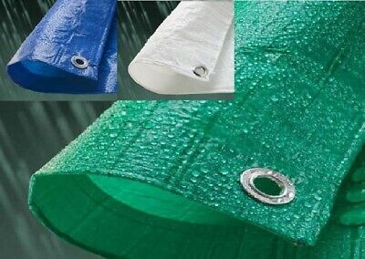 Tarp-Tex Economy 80gsm Tarp Tarpaulin Ground Sheet Cover Various Colours & Sizes