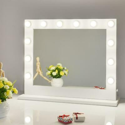 Hollywood Lighted Makeup Vanity Mirror with Lights PLUS FREE LED Bulbs