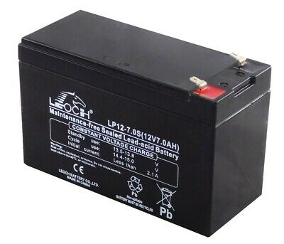 Leoch LP12-7.0 Sec 12V 7Ah Sealed Battery