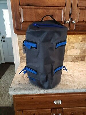 584ac8c59b3e NEW WITH TAGS! Ozark Trail Premium Coated Duffel, Grey. 40 Liters ...