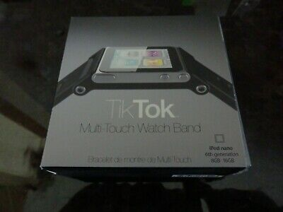 Tik Tok Multitouch Watch Band for Apple iPod Nano 6th Generation