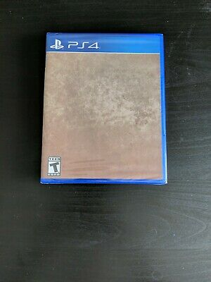 What Remains of Edith Finch PS4 RARE Promotional Cover Factory Error Misprint