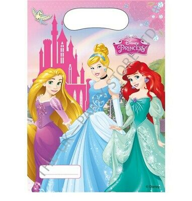 DISNEY PRINCESS PARTY LOOT BAGS Birthday Party Supplies Gift Pack Favour Kids
