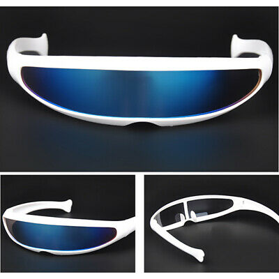 Protection Sunglasses New Cool Personality Stylish Robot Lenses UV400