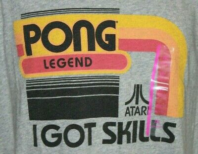 Atari PONG GAME SCREEN Licensed Vintage Style T-Shirt All Sizes
