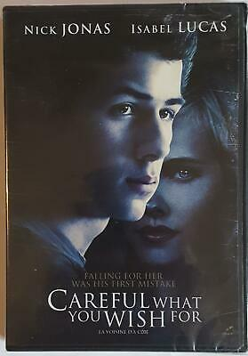 Careful what you wish for (BRAND NEW DVD Bilingual) FREE SHIPPING !!